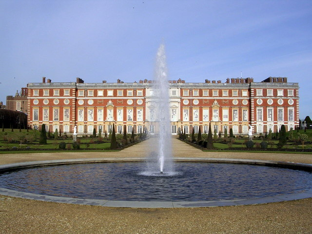 Hampton Court Palace South Facade