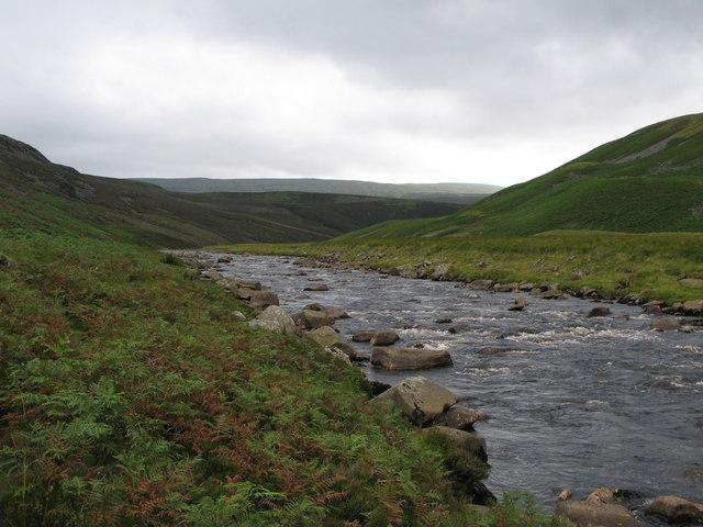 The River Tees at Holmwath