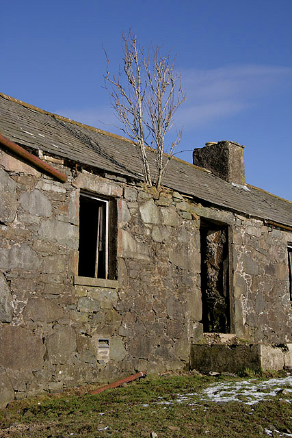 The ruined cottage at Cormilligan