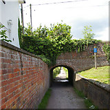 ST9761 : Towpath Underpass by Roger Gittins
