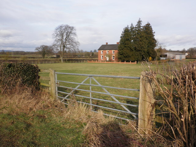 Farm, Weobley Marsh