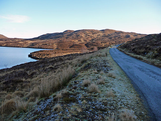 Road south of Loch Dhughaill