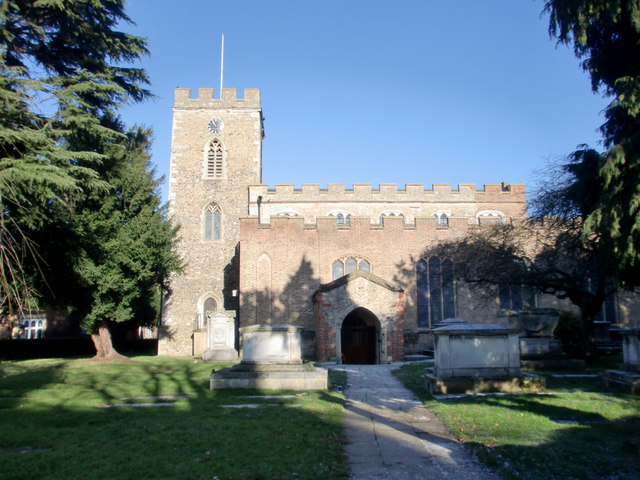 St Andrew's Parish Church, Enfield Town
