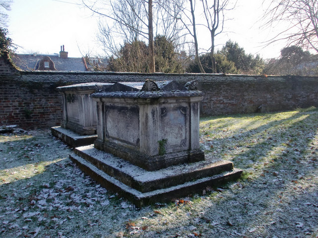 Vaults in St Andrew's Churchyard, Enfield
