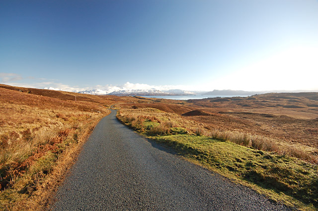 The road to Ostaig