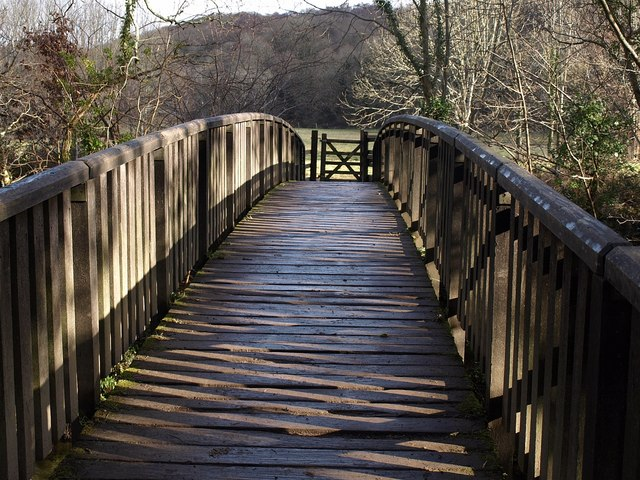 Footbridge over the Plym