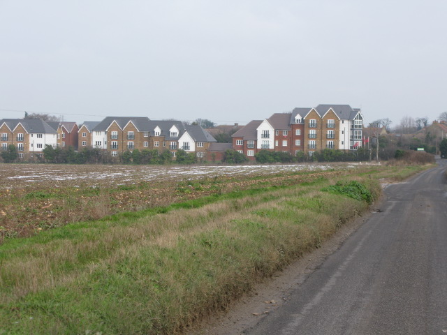 New housing development on Nash Road