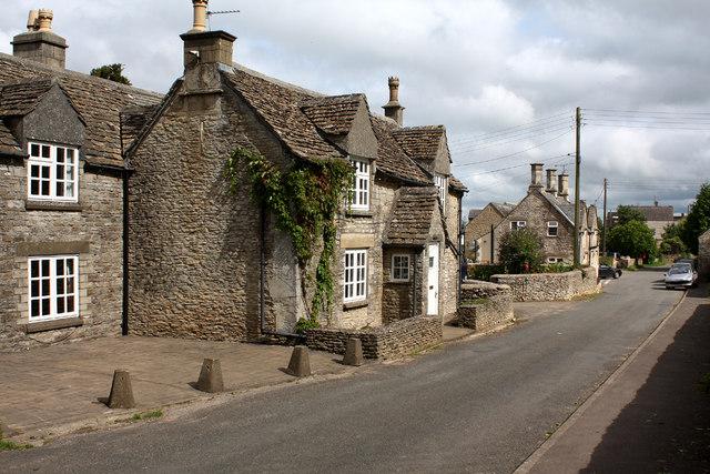 Leighterton Village Street