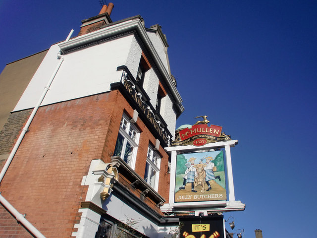 Jolly Butchers Public House, Baker Street, Enfield