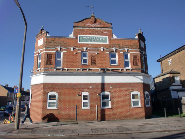 Co-operative Store Building, Baker Street, Enfield