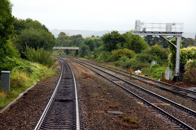 The Down Goods Loop at Hatherley