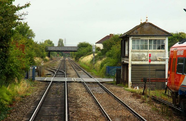 Cheltenham Alstone Level Crossing