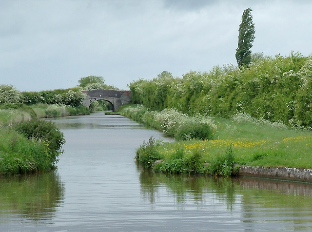 Shropshire Union Canal north of Audlem, Cheshire