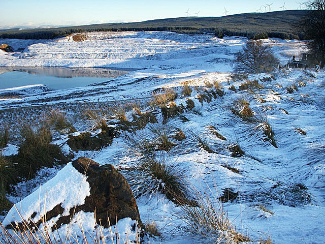 Old opencast site
