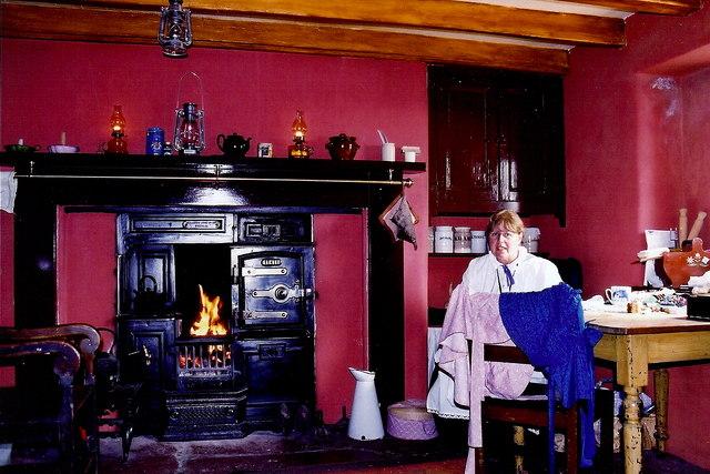 Cregneash Village - Church Farm House interior
