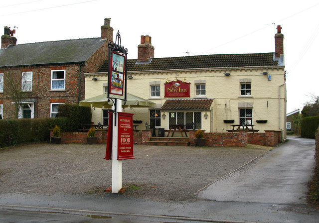 The New Inn, Huby