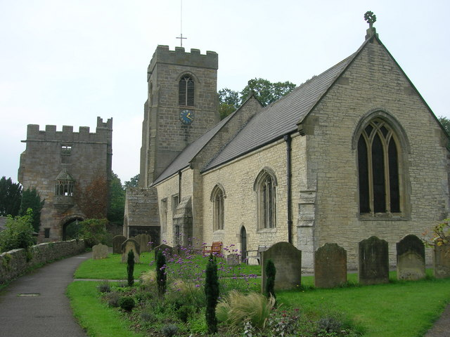 St Nicholas Church, West Tanfield