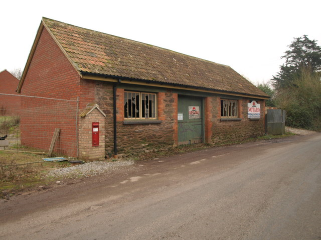 Building at Huntworth