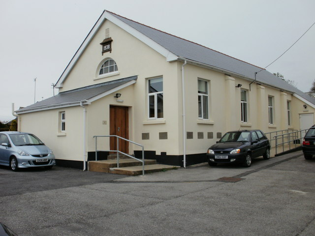 Gilead chapel hall, Coity