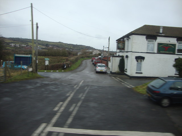View from the level crossing