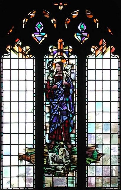 St George, Pinner View, Harrow - Window