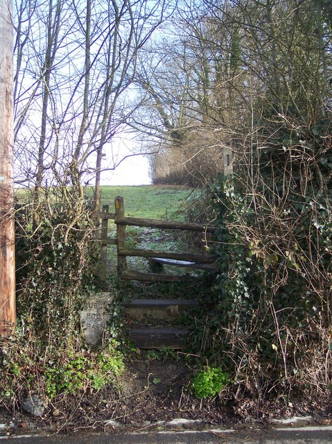 Stile on Penshurst Road