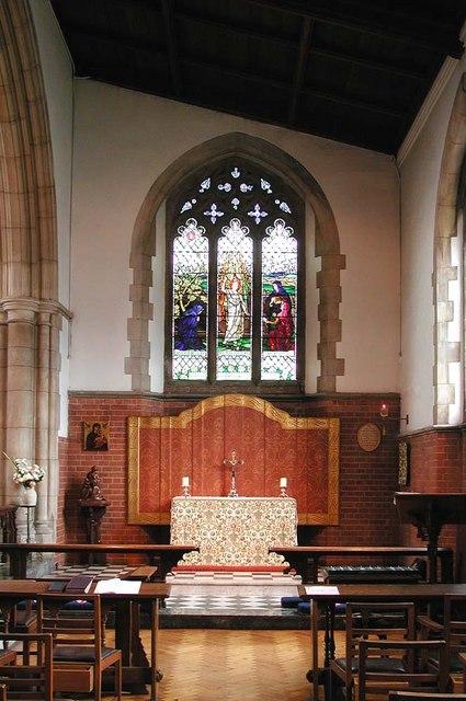 St George, Pinner View, Harrow - Lady Chapel