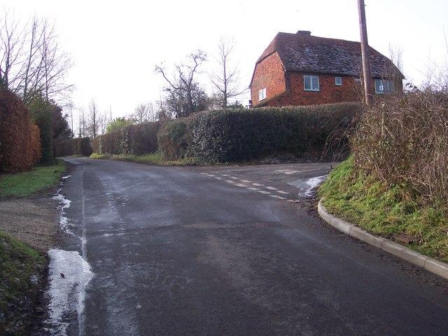 Junction on Poundsbridge Hill