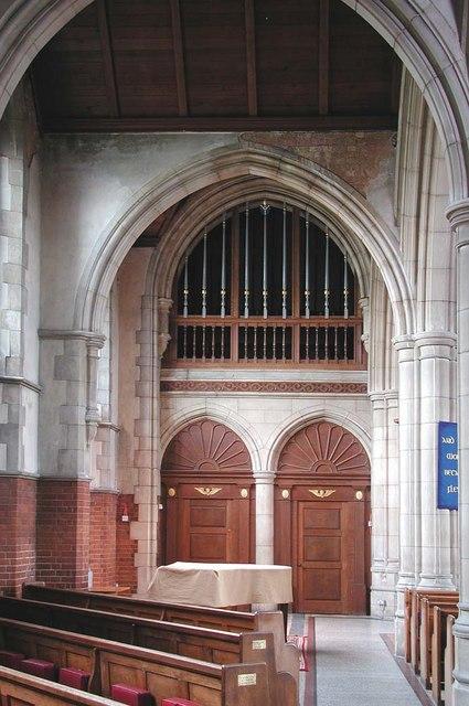 St George, Pinner View, Harrow - Doorways