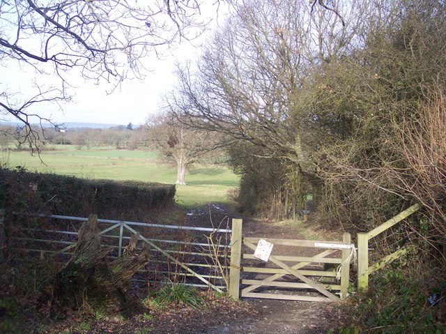 Gate on Coopers Lane