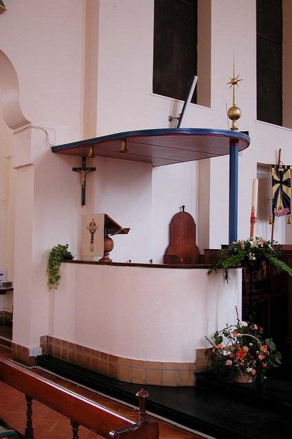 St Alban, The Ridgeway, North Harrow - Ambo