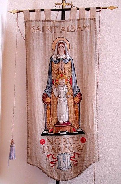 St Alban, The Ridgeway, North Harrow - Banner