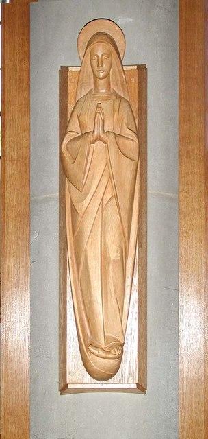 St Alban, The Ridgeway, North Harrow - Statue