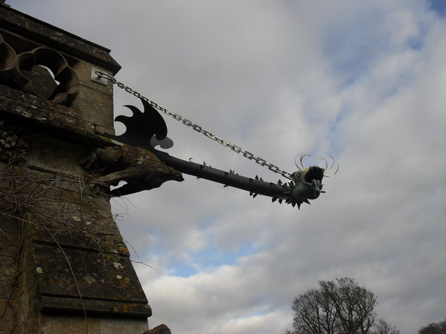 Dragon on the church