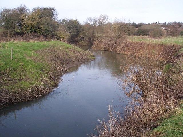 River Medway flowing towards Penshurst