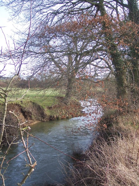 River Medway near Nashes Farm