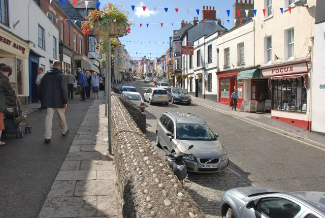 Lyme Regis:  Silver Street