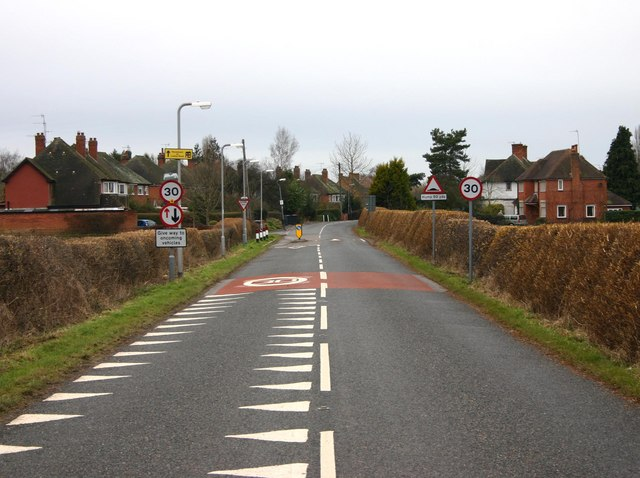 Traffic calming on Loxley Road