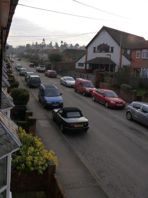 Harpsden Road facing south