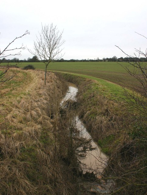 Small brook off Loxley Road