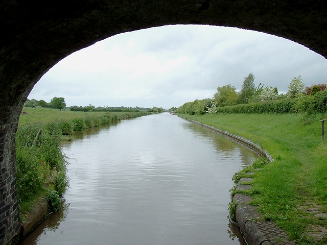Shropshire Union Canal towards Hack Green, Cheshire
