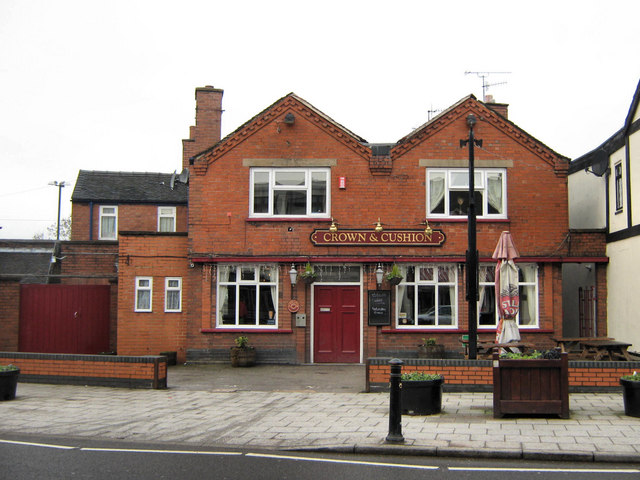 The Crown and Cushion