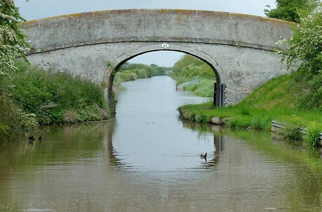 Mickley Bridge (No 84) near Hack Green, Cheshire