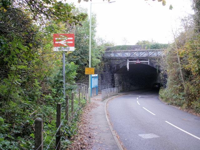 Wildmill railway bridge, Bridgend