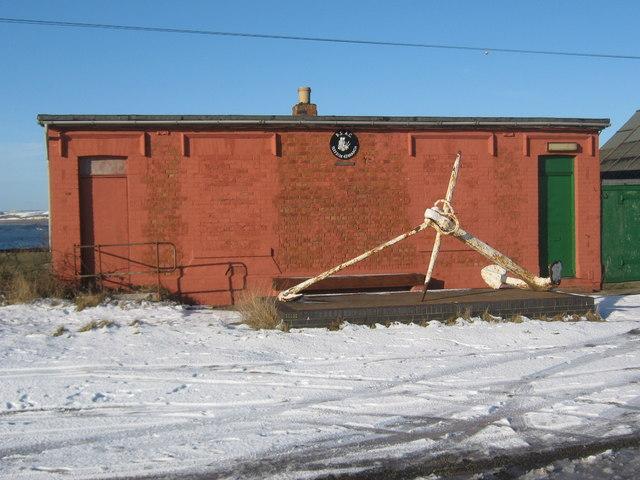 British Sub-Aqua Club building at the South Gare Teesside