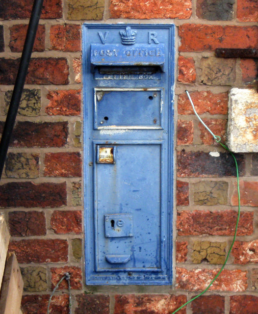 Redundant Victorian Post Box