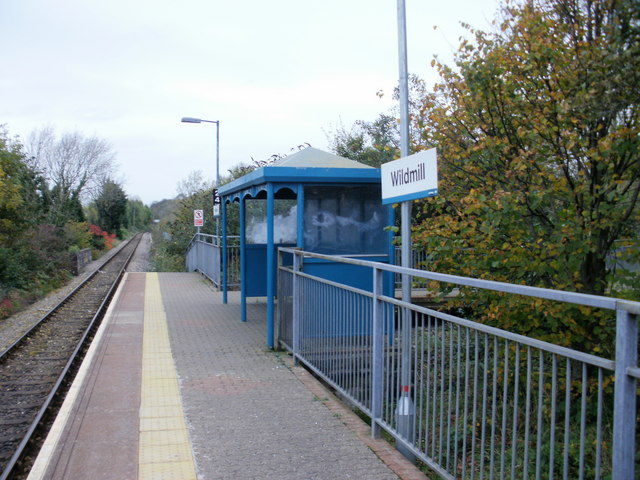 Shelter, Wildmill railway station