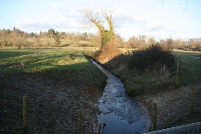 Small tributary of the River Medway from the Forest Way