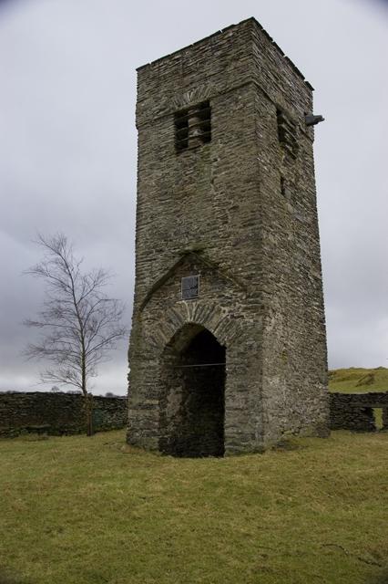 Church Tower near Crook Hall