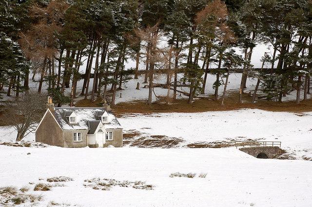 Cottage at Glenshiel Banks